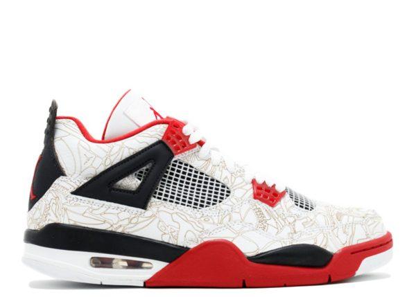 Fire Red Air Jordan 4 'Laser' 2005