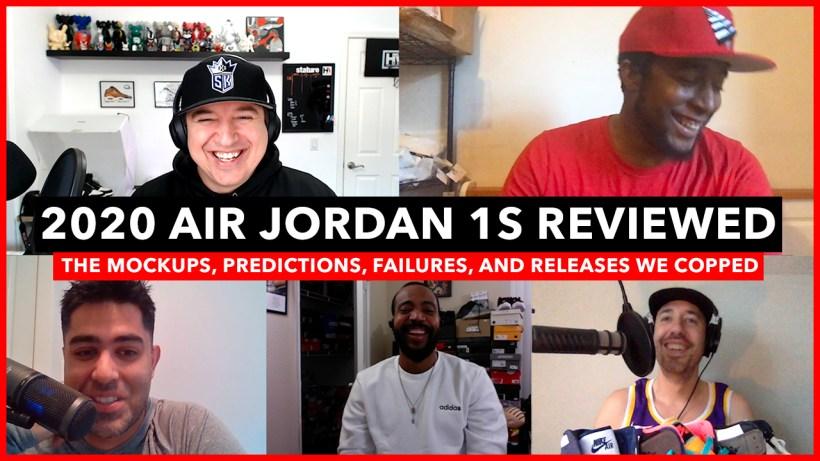Air Jordan 1 2020 Releases Reviewed