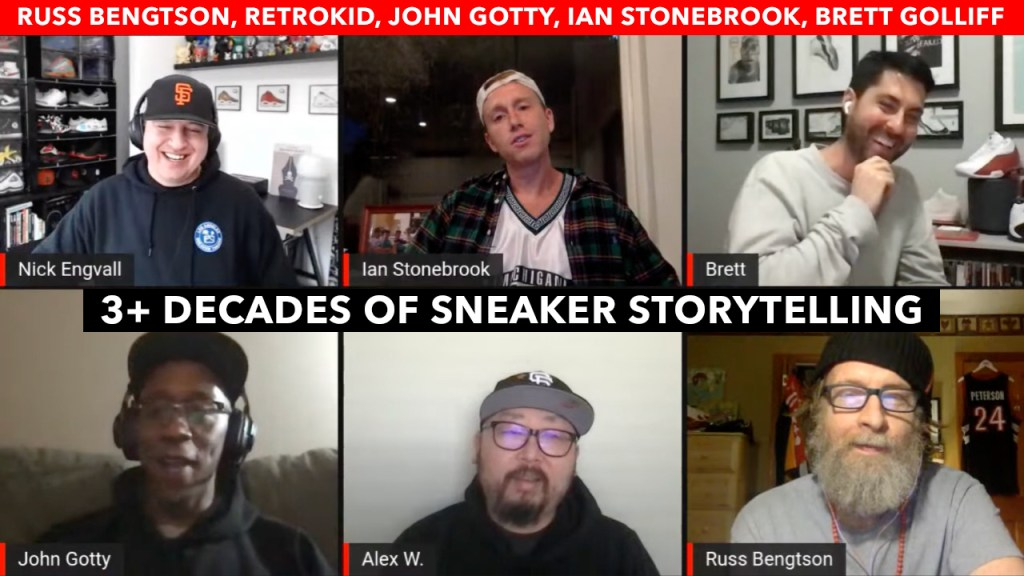 3+ Decades of Sneaker Storytelling