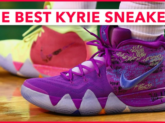 Picking The Best Nike Kyrie Sneakers - My Starting Five