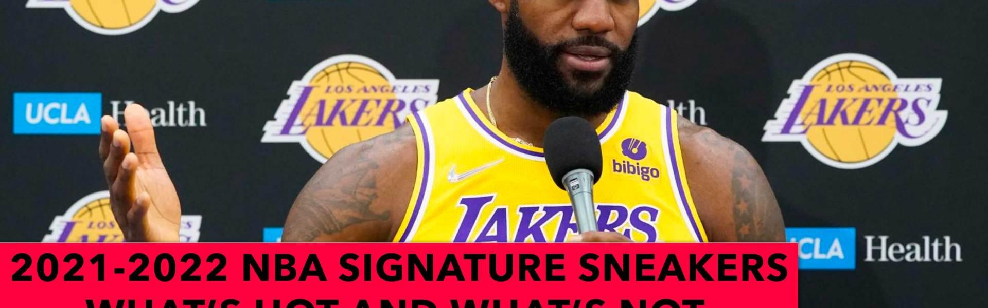 2022 NBA Signature Sneakers