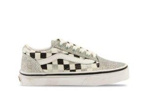 Vans Old Skool Glitter/Checkerboard Kinderen