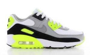 Nike Air Max 90 Wit/Grijs/Geel