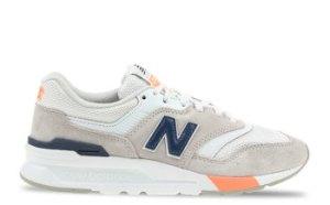 New Balance 997 Grijs/Wit Dames
