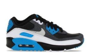 Nike Air Max 90 Zwart/Blauw