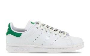 adidas Stan Smith Wit/Groen Heren