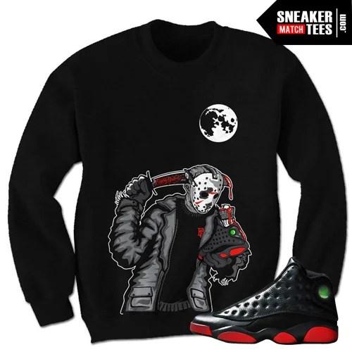67647f51e920 jordan 13 bred sweaters match retro 13 sweatshirts