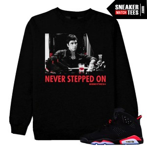 Infrared 6 Jordan Retro matching streetwear sneaker tees shirts hoodies and crewnecks clothing