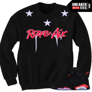 Infrared 6s sweaters to match