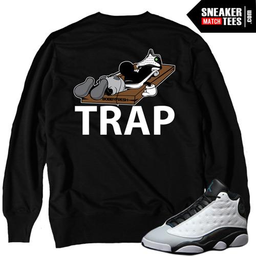 17bf37c23b60de ... Bred 13 sneaker tee collection  Retro 13 barons matching sneaker tees  tshirts clothing  Jordan ...