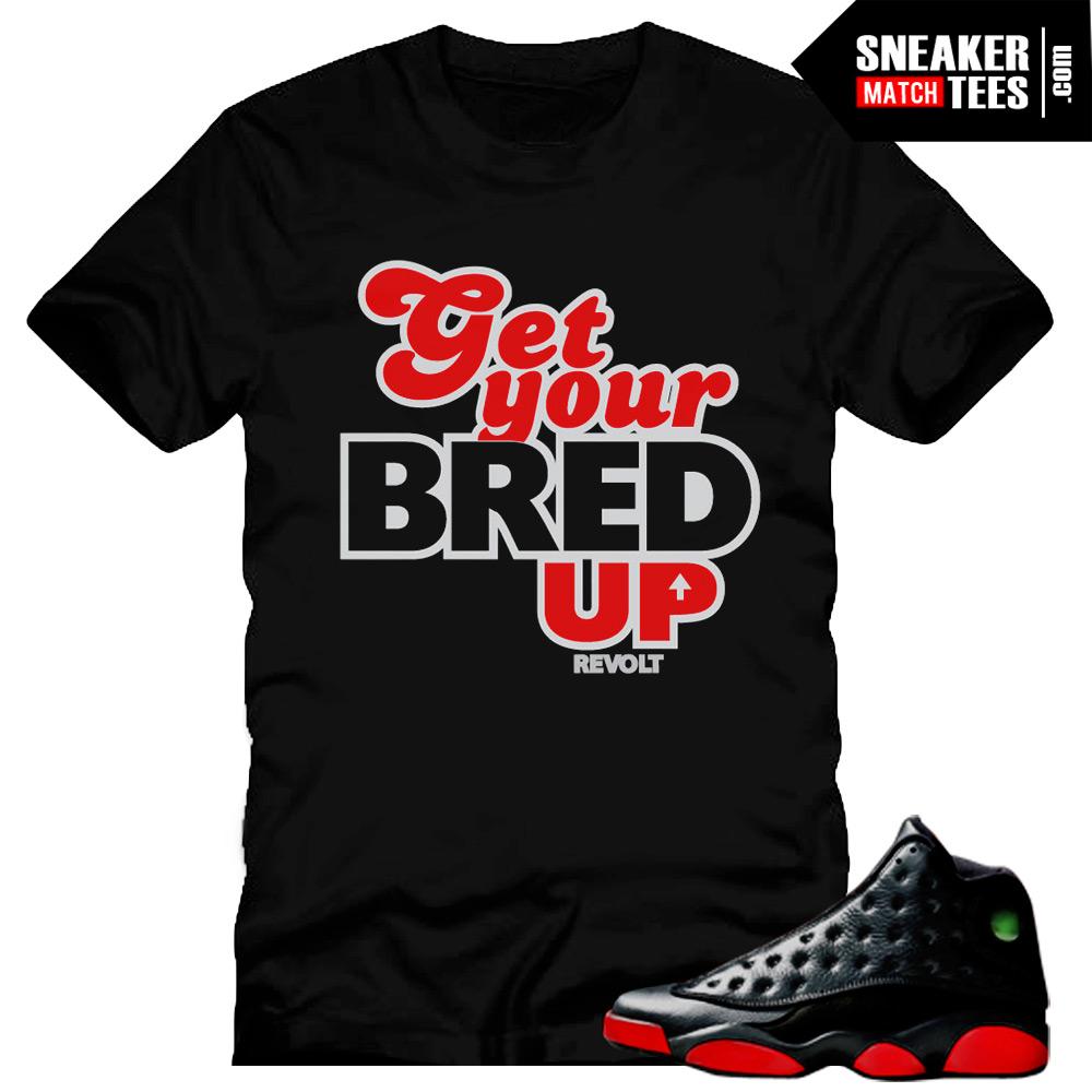 a3738bd11f63b4 bred 13 sneaker tees match jordan shoes