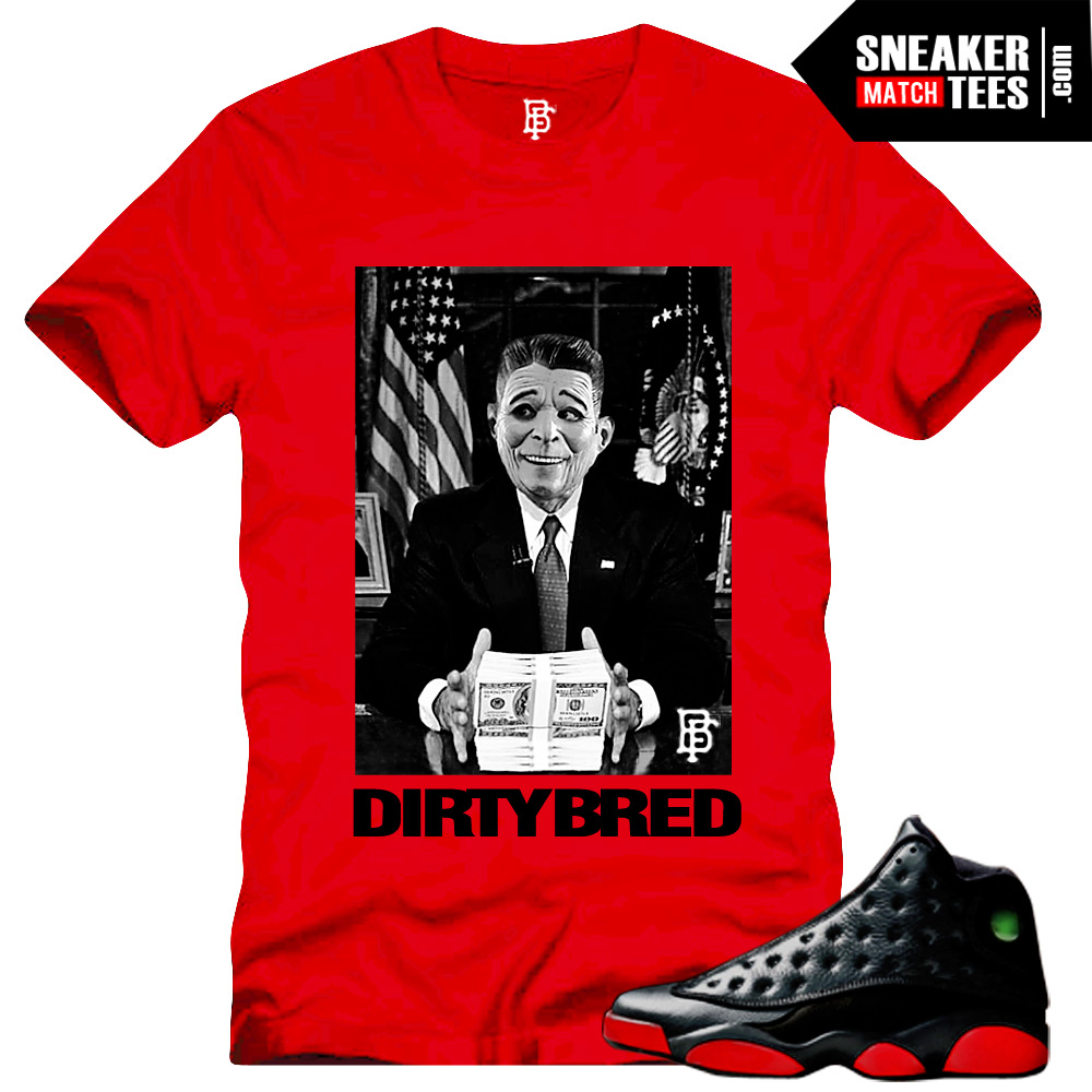 e8385f0dd515 jordan 13 bred tee match retro 13 sneaker shirts match