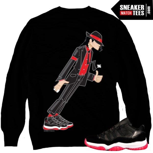 50f83050fa5aa5 ... Space Jam Collection Jordan 11 Bred matching crewneck sweater sneaker  tees karmaloop online shopping streetwear ...