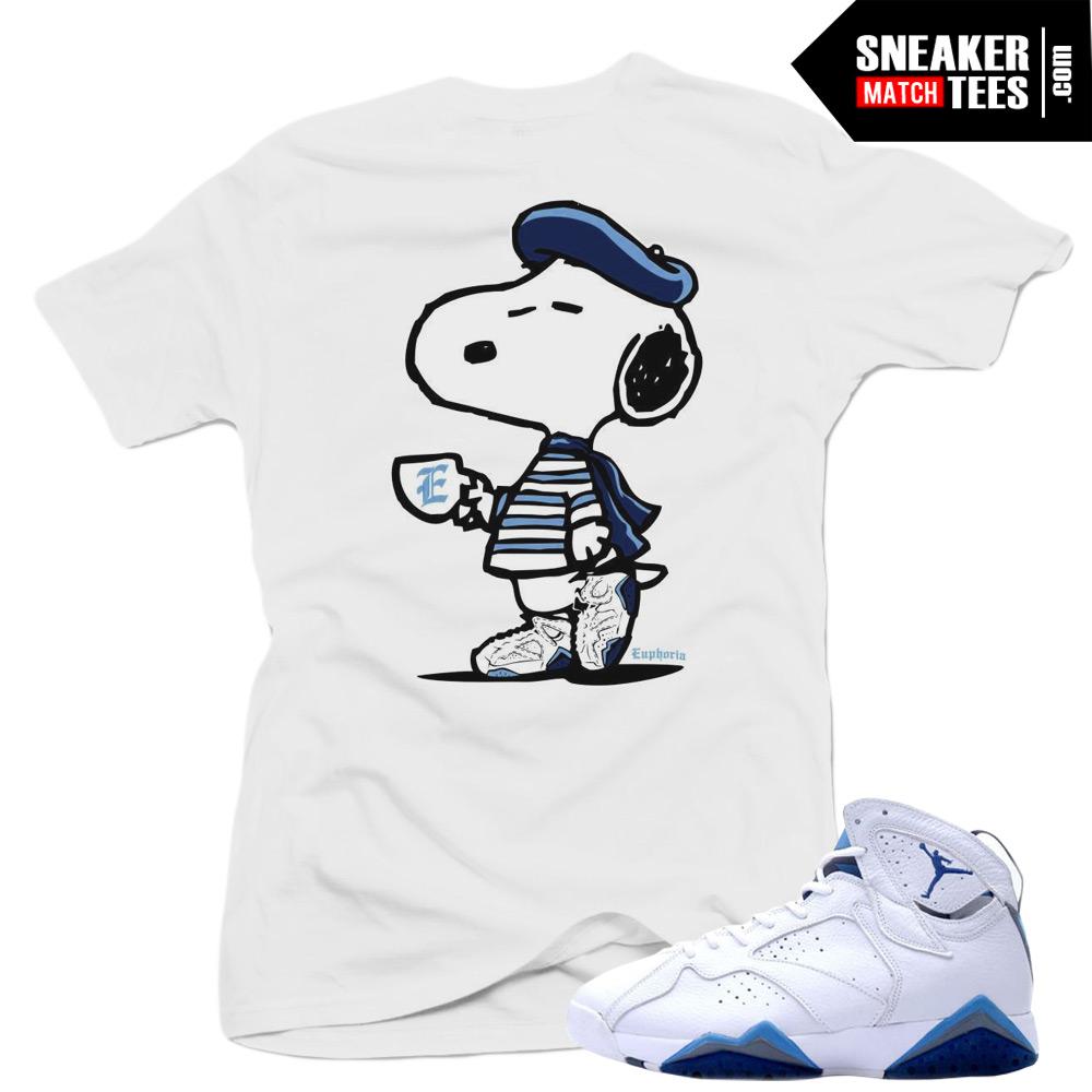 san francisco c9795 eb712 ... sweden jordan 7 french blue sneaker tees online streetwear 14da4 c8910
