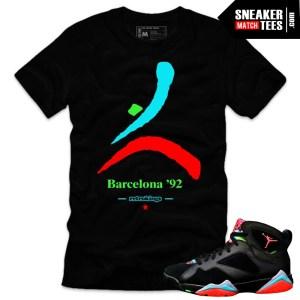 Jordan 7 Marvin the Martian shirts. online shopping streetwear karmaloop