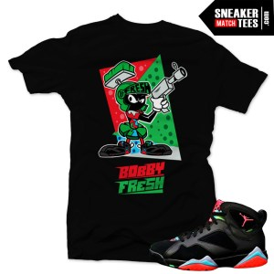 Marvin-7s-sneaker-tee-shirts-to-match-jordan-7-Marvin-the-Martian-new-jordans-streetwear-online-shopping-karmaloop
