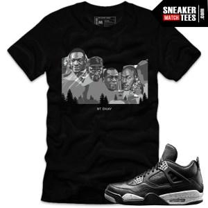 New-jordan-sneaker-tees-shirts-to-match-Oreo-4s-streetwear-online-shopping-karmaloop