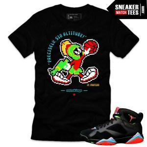 Shirts matching Jordan 7 Marvin the Martian sneaker tee shirts online shopping streetwear karmaloop