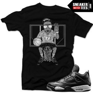 Sneaker-tees-shirts-Jordan-4-Oreo-matching-sneaker-tees-for-jordan-retros-streetwear-online-shopping-karmaloop