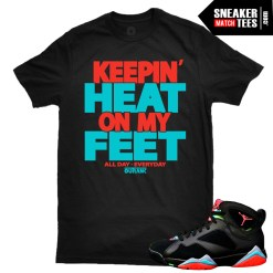 Sneaker-tees-shirts-to-match-Marvin-the-Martian-7s-new-jordans-retros-streetwear-online-shopping-karmaloop