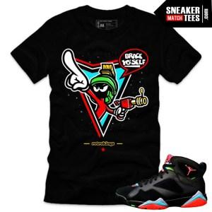 shirts match jordan 7 Marvin the Martian sneaker tees shirts online shopping streetwear karmaloop