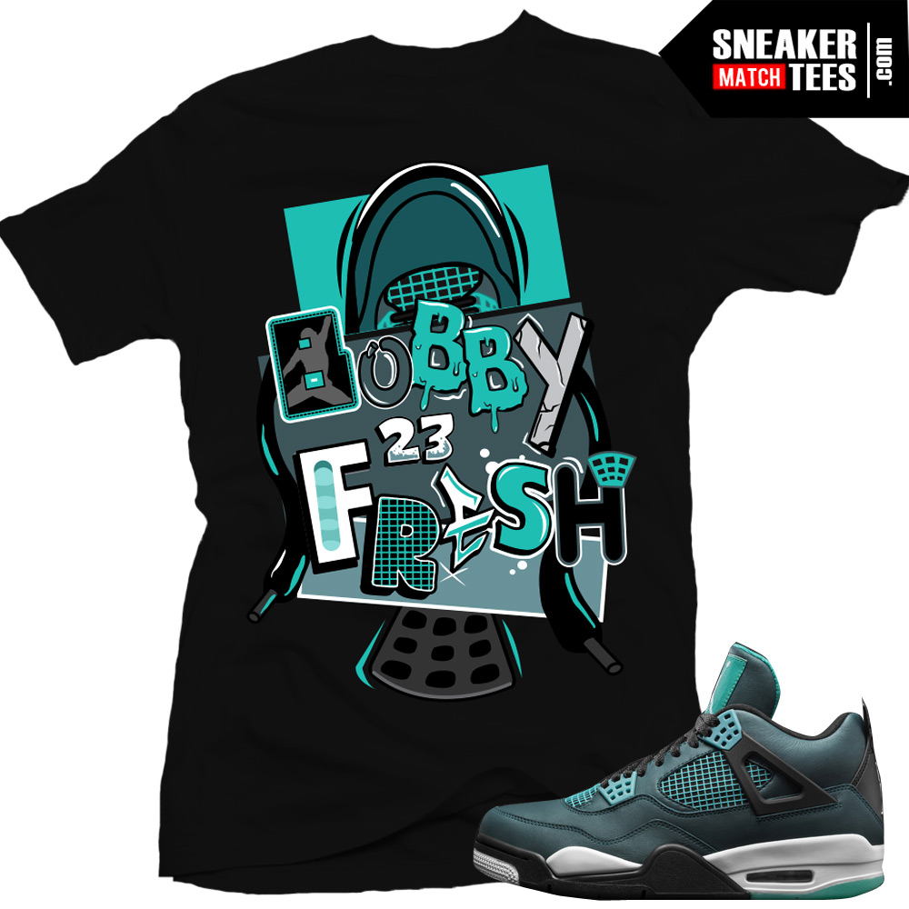 6c4b34e9bd9acb Green And Black Jordan Shirts
