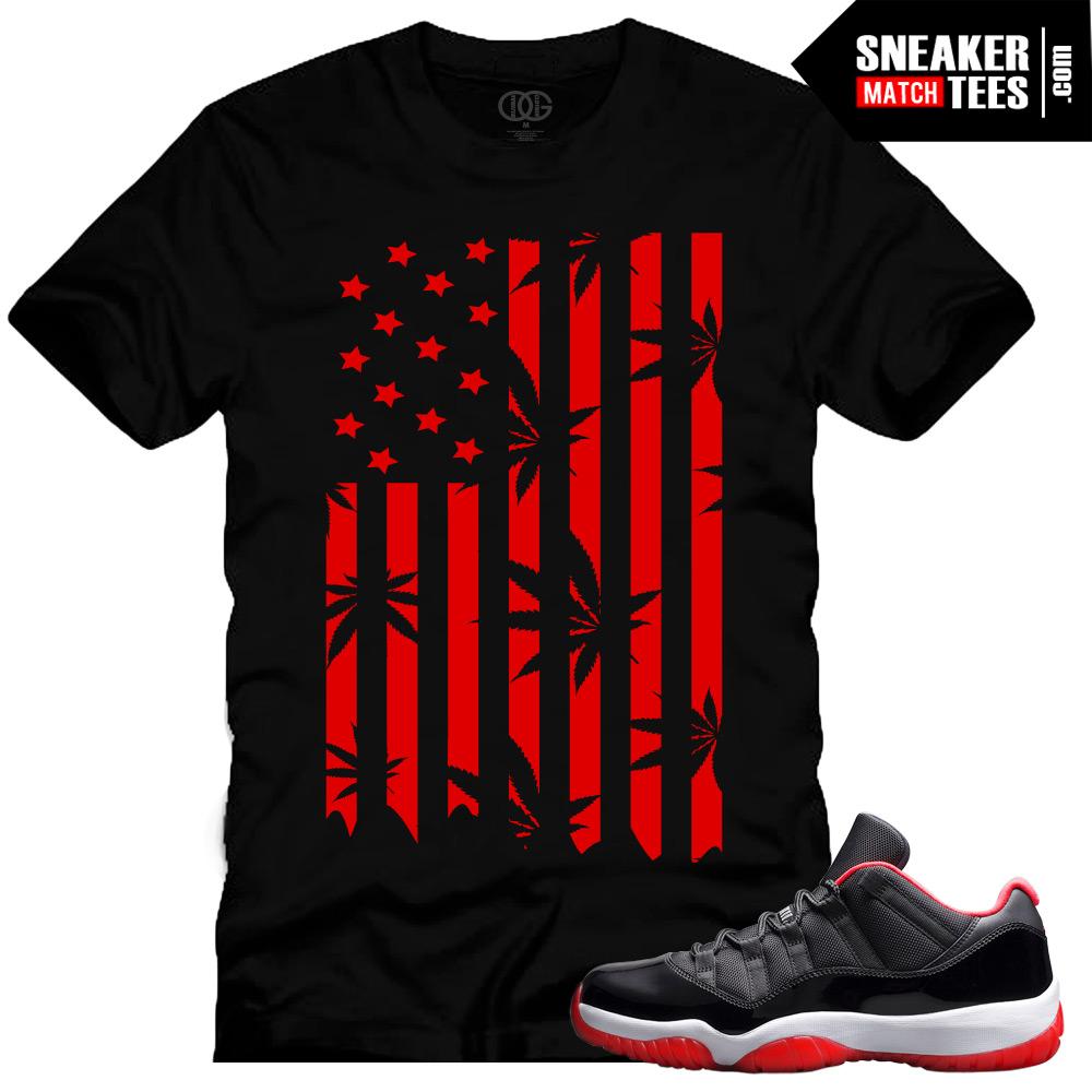 Jordan XI Bred low shirts Archives | Sneaker Tees Match Air Jordan Retro Yeezy Boost 350 Jordan ...
