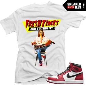 Chicago 1 shirt to match Jordan 1 Chicago streetwear online karmaloop