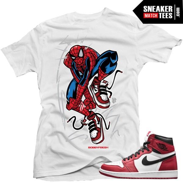 hot sale online 3037c 7f7da ... Jordan 1 Chicago matching shirts sneaker tees streetwear online  shopping Legend Blue 11 ...
