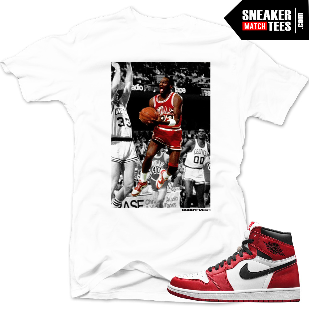 jordan 1 chicago shirts to match gravity white sneaker tees shirt