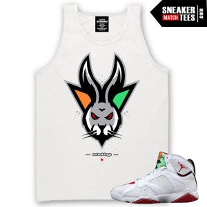 Jordan 7 Tank tees to match