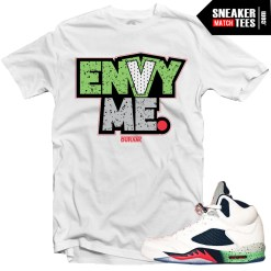 Jordan 5 shirts to match Space Jam 5s streetwear karmaloop