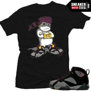 Bordeaux 7s matching t shirt sneaker news kicks on fire 1