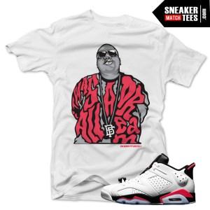 Jordan 6 low infrared shirt