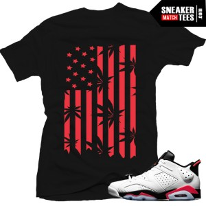 shirt to match white infrared 6s