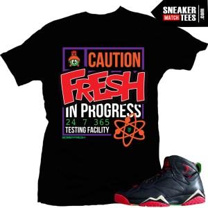 Jordan 7 t shirts match marvin the martian 7s sneaker news