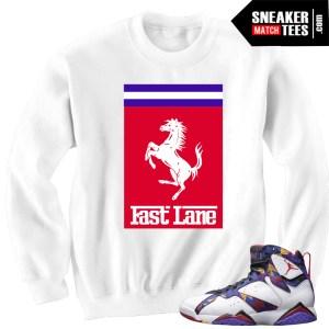 Sweater Matching Jordan 7 Sweater