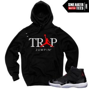 Hoodie to match Jordan 11 72-10 sneakers