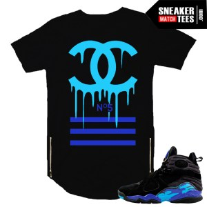 t shirts to match Aqua 8s sneakers jordan retros