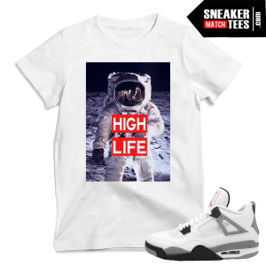 Cement 4s 2016 matching sneaker tees shirts