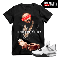 DJ KHALED key success they dont want you to win t shirt
