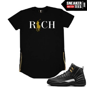 Master 12s Black Zipper tee