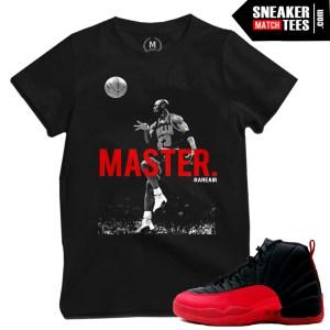 Flu Game 12 shirts matching Jordan 12