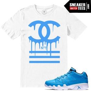 Jordan 9 Pantone low t shirts match