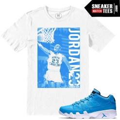Match Sneaker tees shirts Pantone 9 Jordan