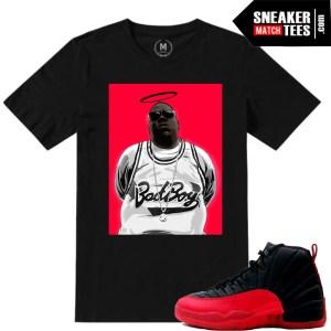 Flu Game shirt match sneakers