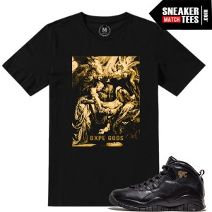 Jordan X NYC t shirt match