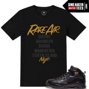 Match NYC 10s t shirts Jordan