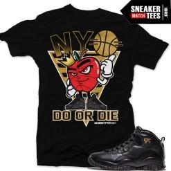 NYC 10s Jordan t shirt match