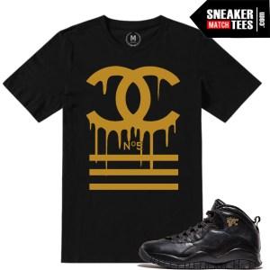 NYC Jordan 10 match tee shirts